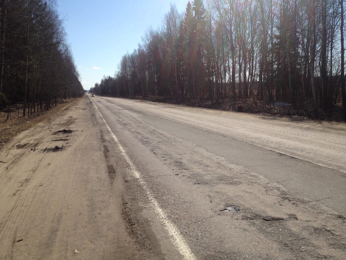 Дорога на Кимры 6 км или в обратную сторону на Тверь - Продажа земли сельхозназначения в Тверской области 14 Га