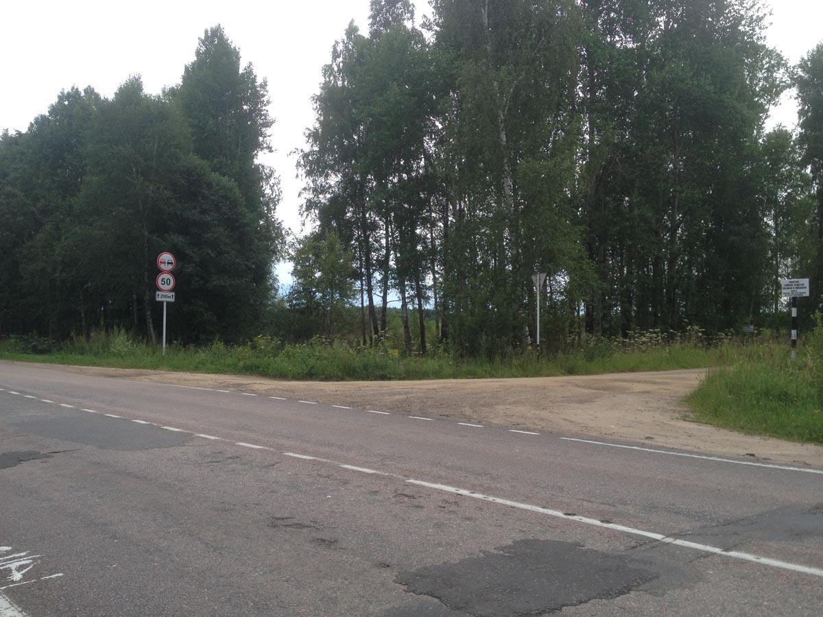 Участок начинается за деревьями - Земельный участок с/х назначения в Тверской области