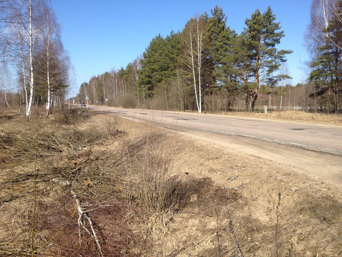 Дорога Кимры–Тверь - Земельный участок сельскохозяствеенного назначения в Тверской области